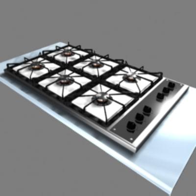 3d cooktop
