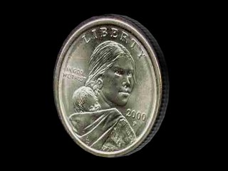 dollar coin 3d model
