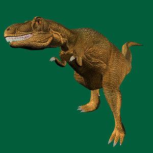 imagination dinosaurs 3d model