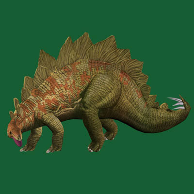 3d imagination dinosaurs model