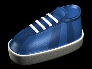 skate shoe 3d model