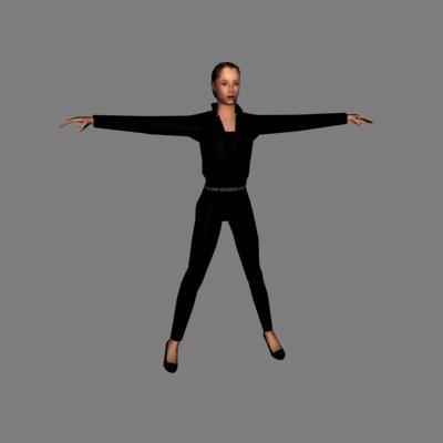 3d human woman female
