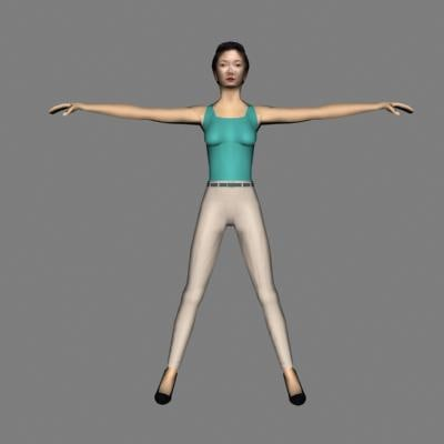 ma human woman female