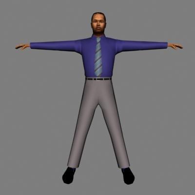 human male 3d 3ds
