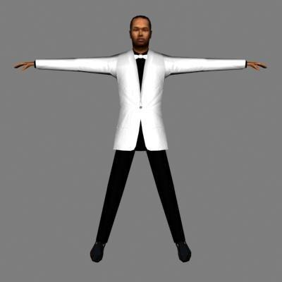 3dsmax character human male