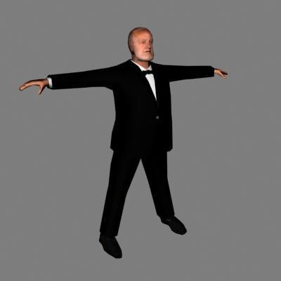 character human male 3d model
