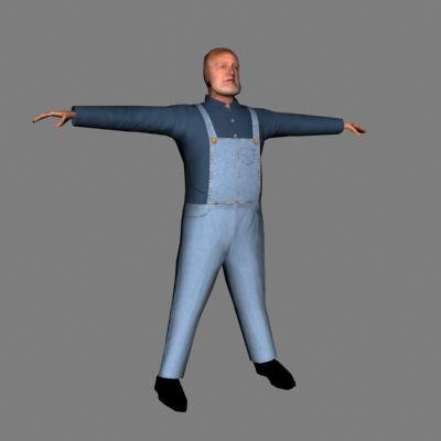 character human male 3d max