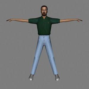 maya character human male
