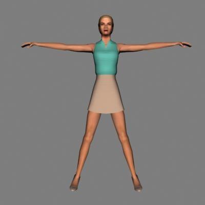 human female max
