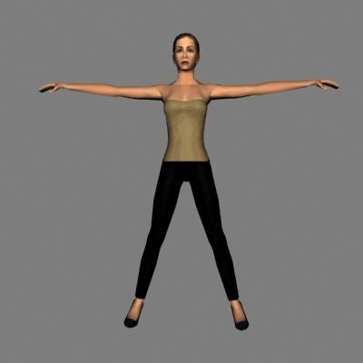 3ds human female