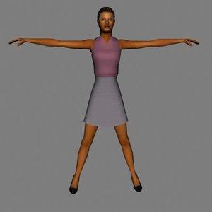 max character human female
