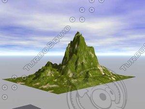wavefront object terrain obj