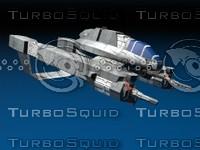 3d model space fighter relegatus