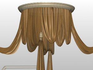 curtain mrfurniture 3d model