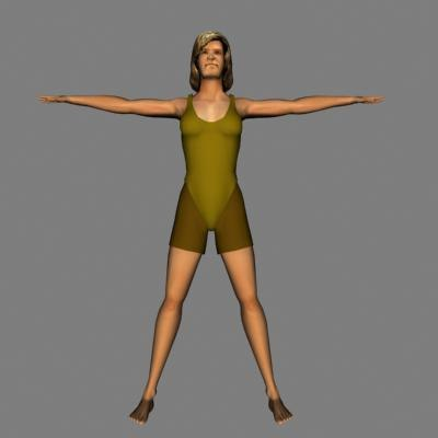 human woman female 3ds