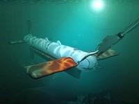 AQS 14 side scanning sonar