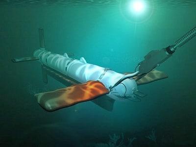 3d model underwater mesh