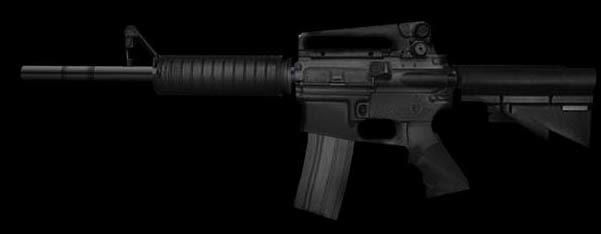 3dsmax colt assault rifle