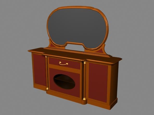 3d dresser model