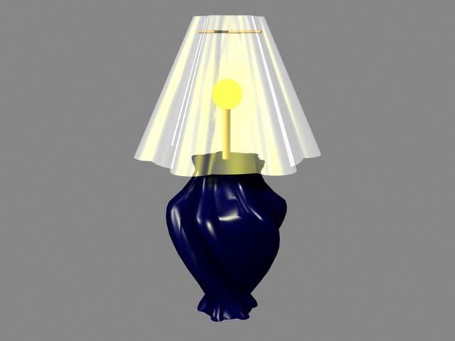 free 3ds model lamp furniture