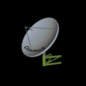 3d model of cosmos tv