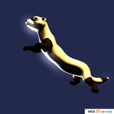 ferret animation 3d max