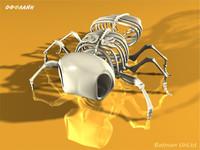 3d model dead fly