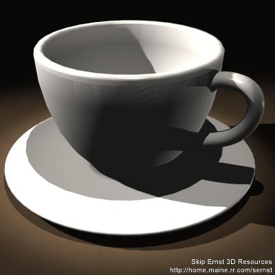 free lwo model latte cup coffee