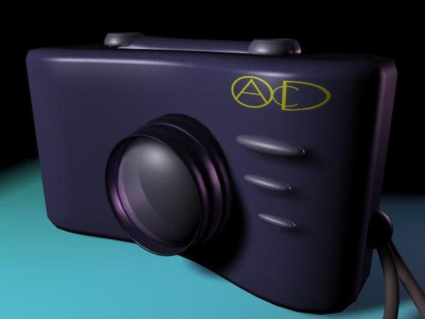free cameranurbs 3d model