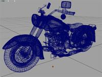 bike motorcycle 3d model