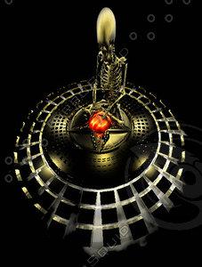hell circle pentagram 3d 3ds