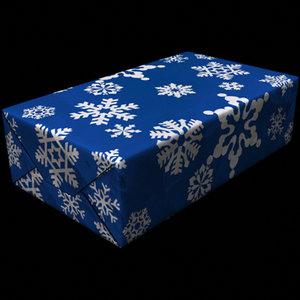lightwave christmas present snowflake