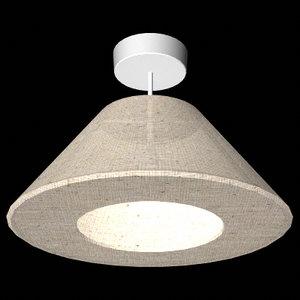 centre light bulb 3d model