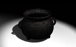 cauldron es 3d model