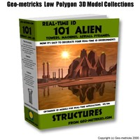 101 alien structure 3d 3ds