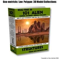 101 alien structure 3d 3ds