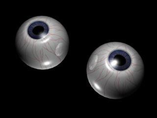 maya human eyes