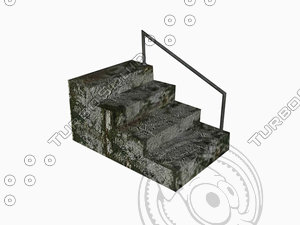 stair steps ring 3ds free