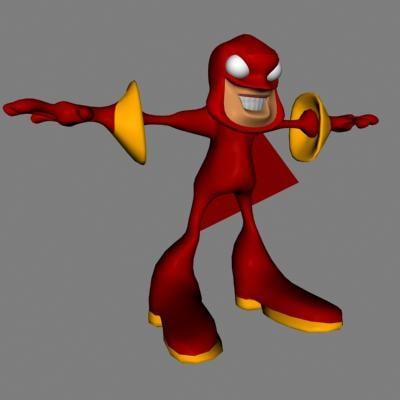animator 3d model