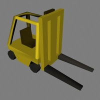 3ds max lift industrial