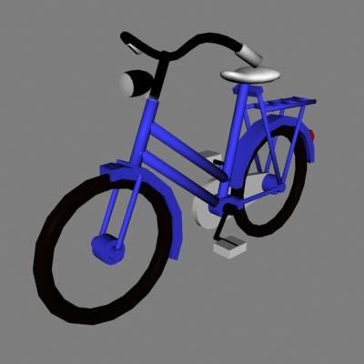 3dsmax bike old