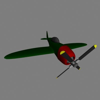 fighter plane 3d 3ds