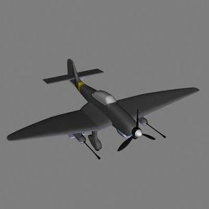 3d model plane