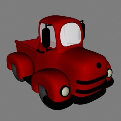 truck toy 3ds