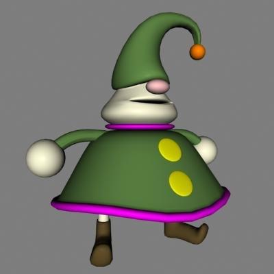 fantasy cartoon character 3d 3ds