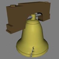 3d model liberty bell