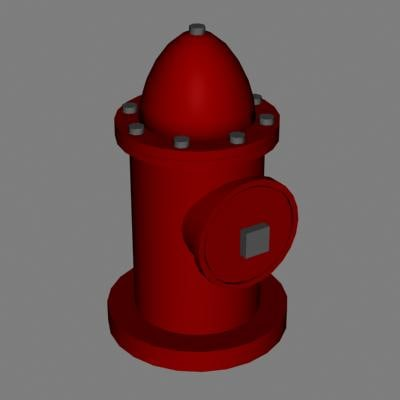 hydrant pump 3d 3ds