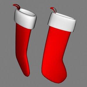 3d stocking model