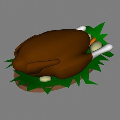 turkey 3d 3ds
