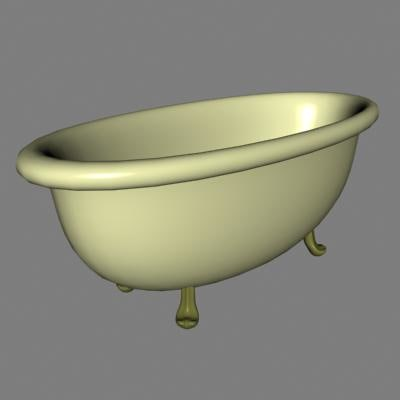 bathtub 3d dxf